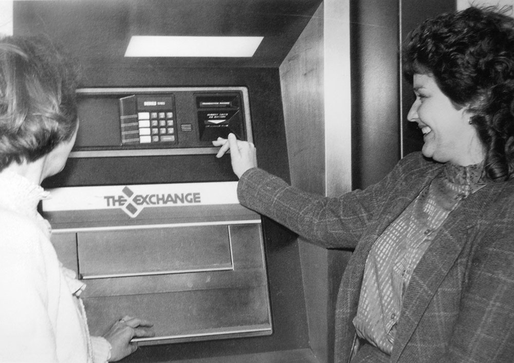 1986 first ATM