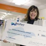 school receives more scholarship funding from BayPort