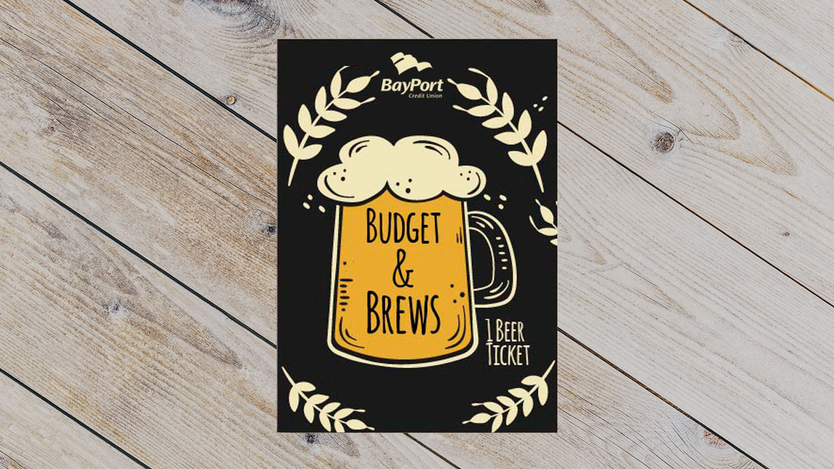 Budget and Brews logo