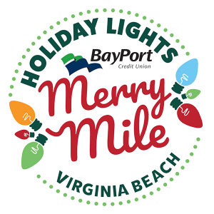 Holiday Lights Merry Mile logo