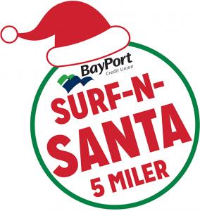 Surf-N-Santa logo
