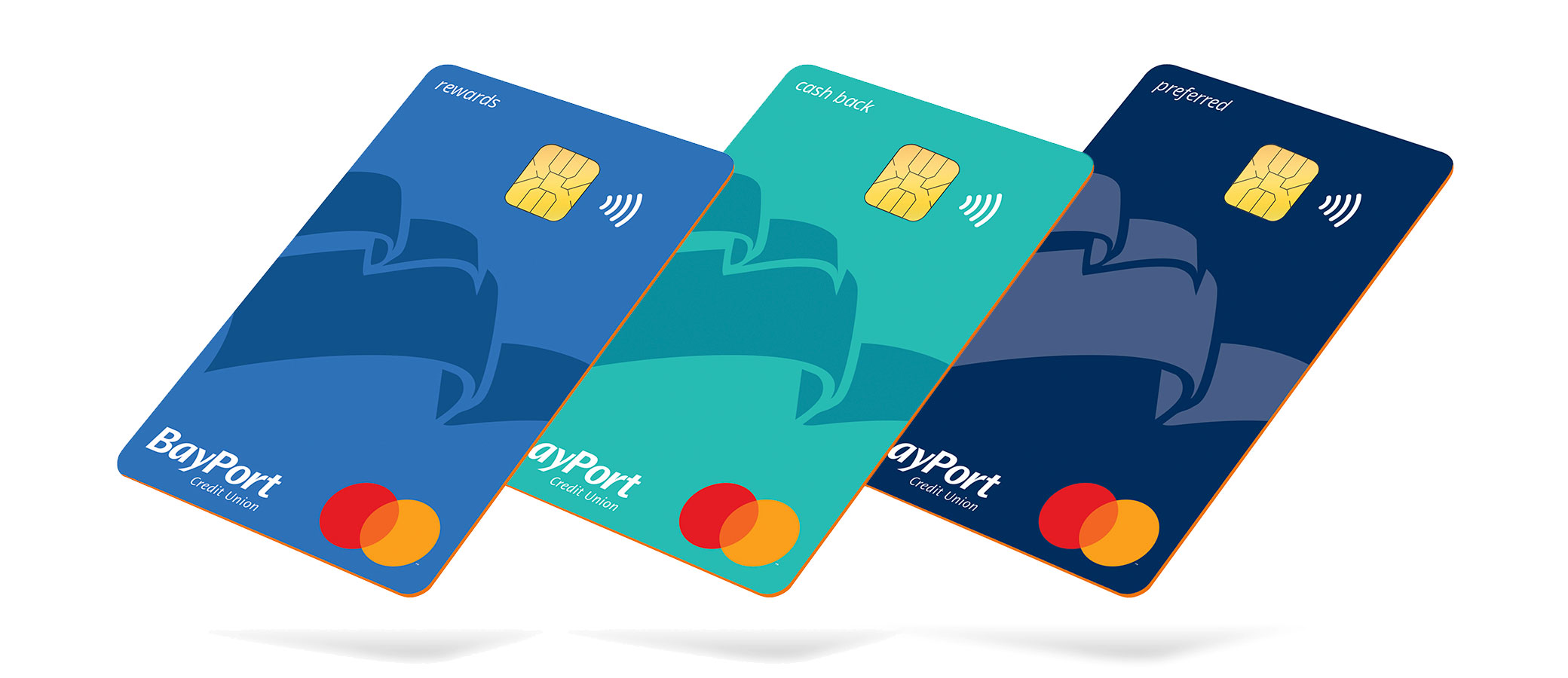 BayPort contactless credit cards